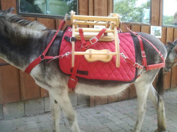 Packsattel für Esel
